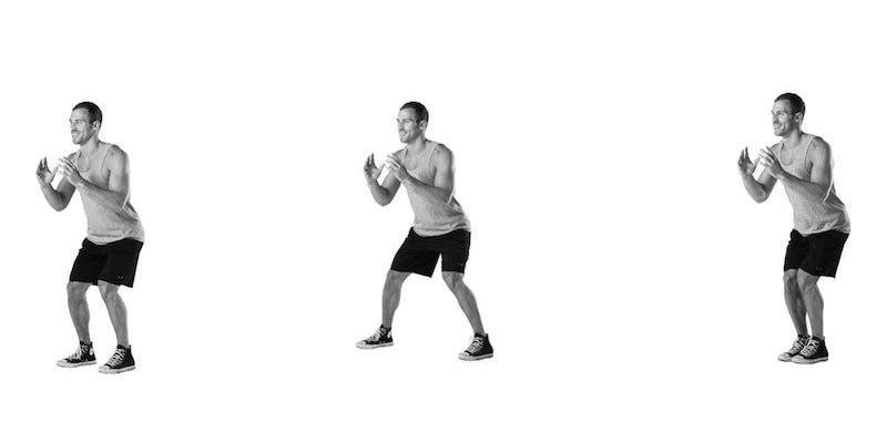 8-mouvements-de-dance-pour-renforcer-vos-fessiers-et-vos-cuisses-Flexions latérales