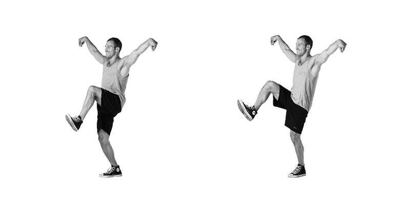 8-mouvements-de-dance-pour-renforcer-vos-fessiers-et-vos-cuisses-Positions de Karaté Kid