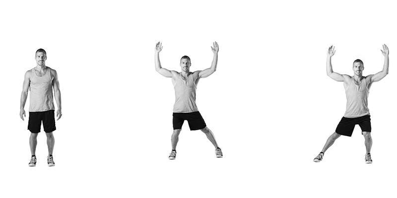 8-mouvements-de-dance-pour-renforcer-vos-fessiers-et-vos-cuisses-Sauts latéraux